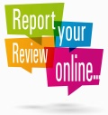 Report your review online